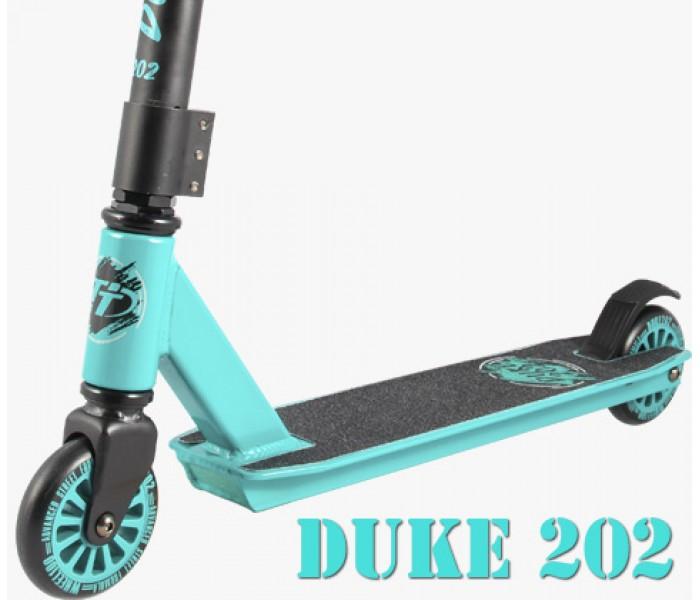 Трюковой самокат TT DUKE 202 2019 (бирюзовый) для начинающих