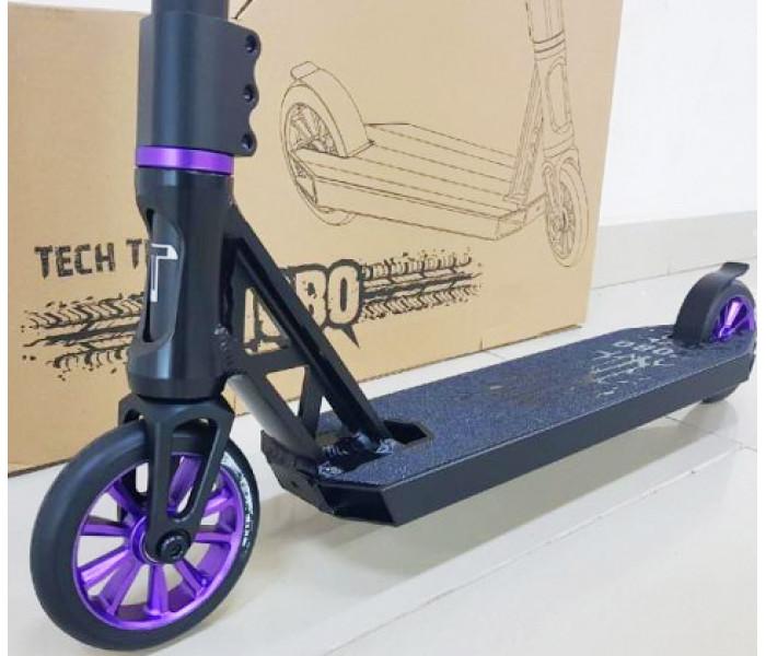 Трюковой самокат Tech Team Hobo (2020) черно-фиолетовый