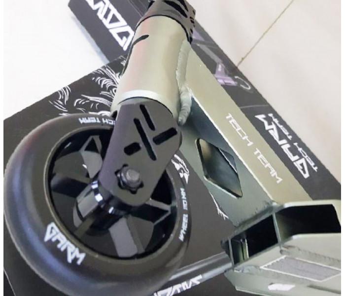 Трюковой самокат Tech Team GARM (2020) серый