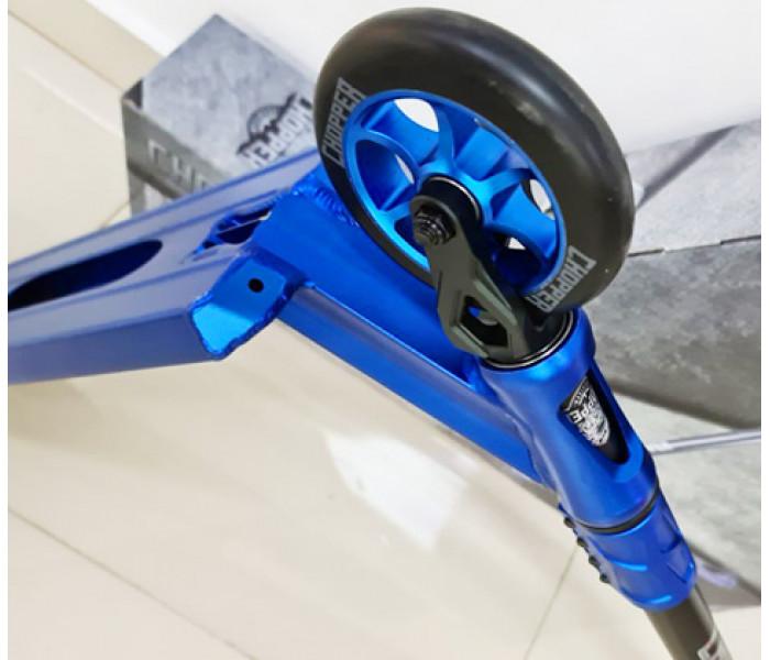 Трюковой самокат Tech Team TT Chopper 2021 (синий, серебристый)