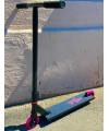 Трюковой самокат Tech Team TT STREET MAMA (pink/yellow)