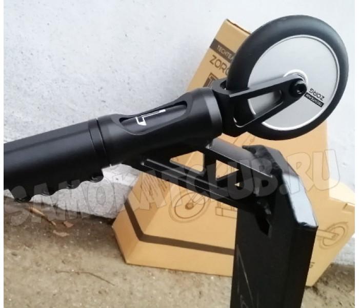 Трюковой самокат Tech Team TT Zorg 2020 Черно-серебристый