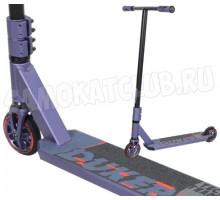 Трюковой самокат Tech Team TT DukeR 303 2021 фиолетовый металлик