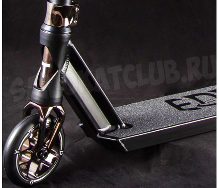 Трюковой самокат Tech Team TT Eddy (2021) черный