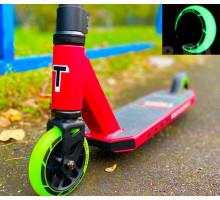 Tech Team DukeR 202 2021 трюковой самокат со светящимися колесами