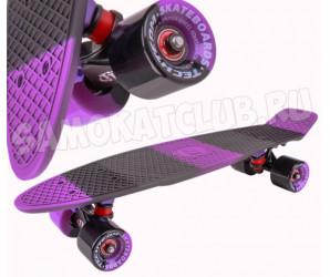 """Круизер Tech Team TT MULTICOLOR 22"""" 2018 фиолетовый. Сумка в комплекте"""