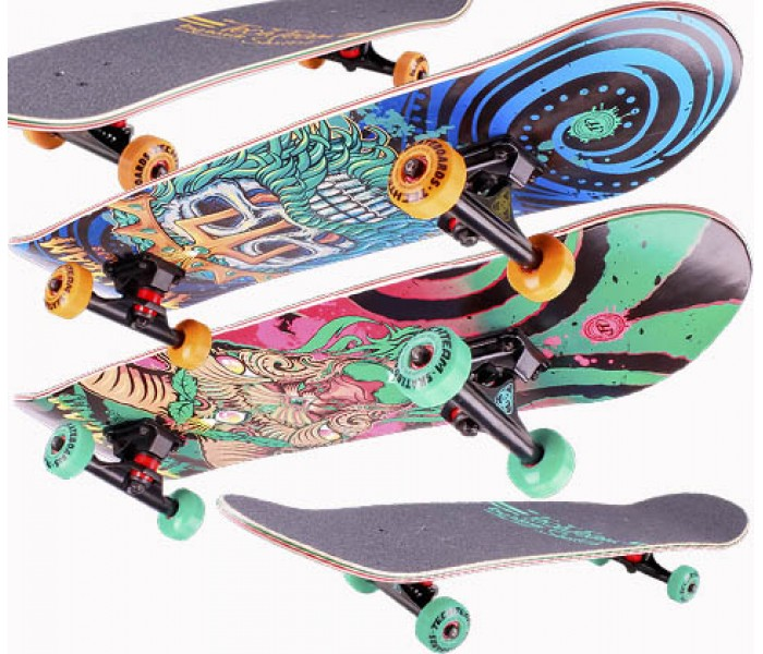 Скейтборд деревянный Tech Team SWITCH 2018