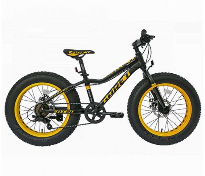 Велосипед хардтейл Tech Team GARET 20 2019 на широких колесах
