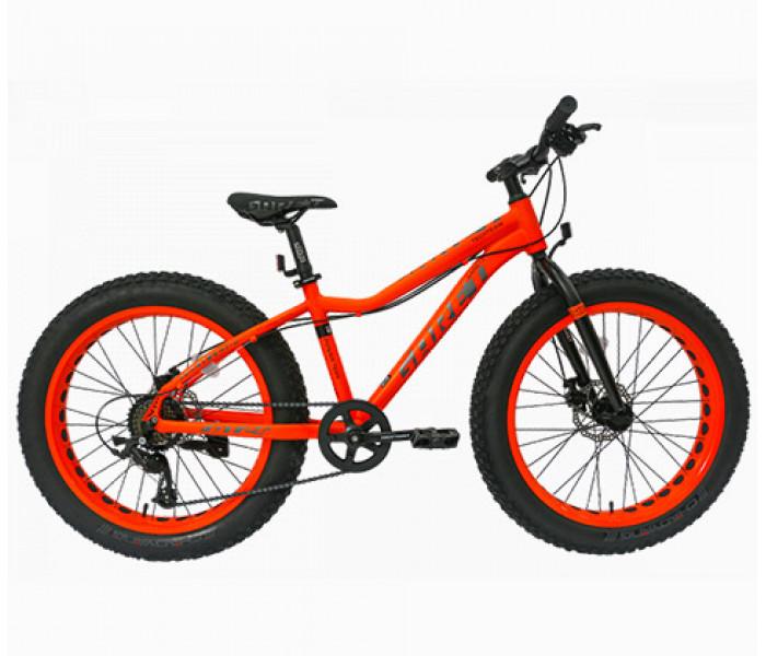 Велосипед хардтейл Tech Team GARET 24 2019 на широких колесах
