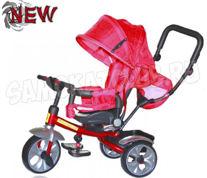 Детский 3-хколесный велосипед Ecoline Duetto 145100 (красный)