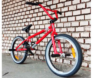 """Велосипед BMX Tech Team LEVEL 20"""" алый 2021г"""