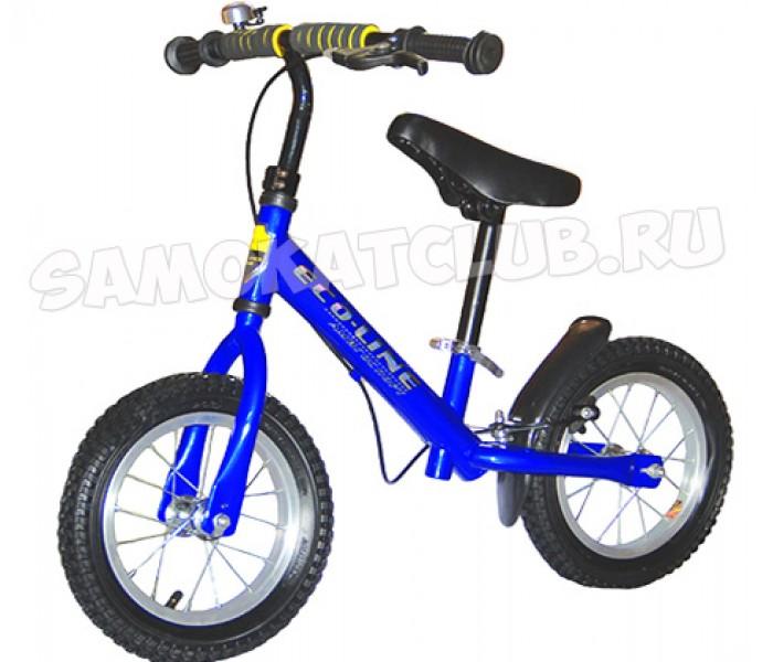 Беговел детский Explore Snipe EL-253120 (синий) с ручным тормозом