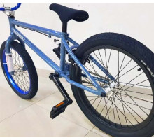 "Велосипед BMX Tech Team TT TWEN 20"" Синий 2020 (Cr-Mo)  хром-молибден"