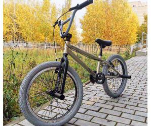 """Трюковой велосипед Tech Team BMX Goof 20"""" серый для начинающих"""