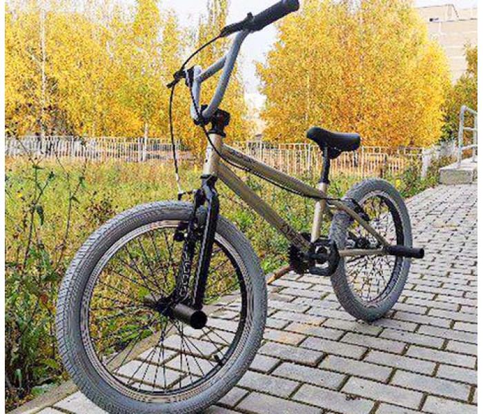 "Велосипед Tech Team TT BMX GOOF 2020г рама 18,7"" Grey"