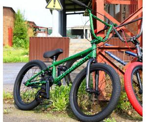 "Велосипед BMX Tech Team Grasshopper 20"" зеленый"