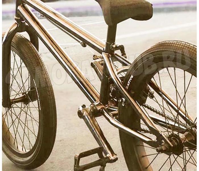 Трюковой велосипед Tech Team TT BMX MILLENIUM (Silver) 2020