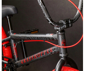 """Велосипед BMX Tech Team Grasshopper 20"""" черно-красный"""