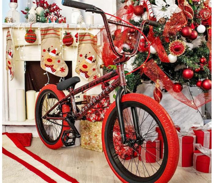 Трюковой велосипед Tech Team TT BMX Grasshopper 2020 красный
