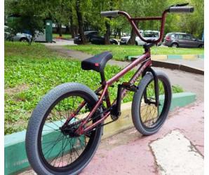 """Велосипед BMX Tech Team Grasshopper 20"""" красно-серый"""
