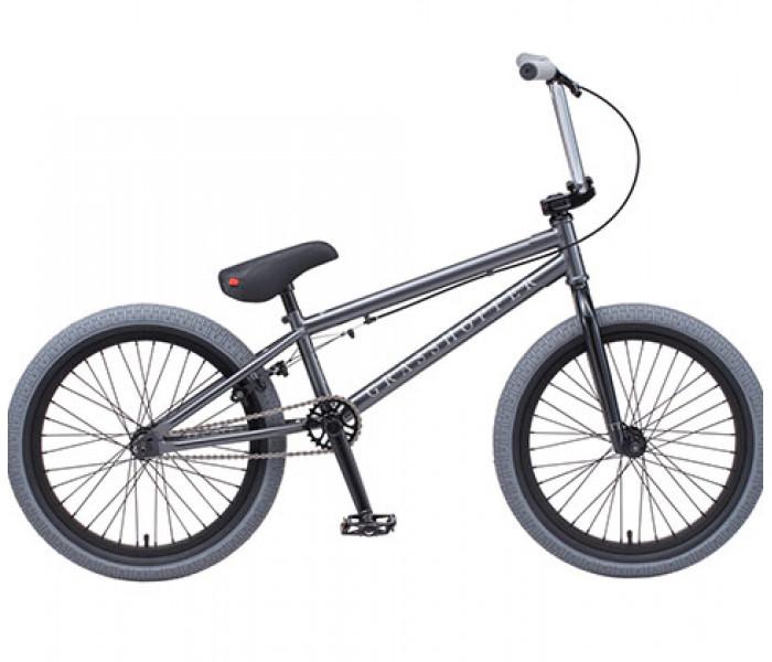 Трюковой велосипед Tech Team TT BMX Grasshopper 2020 серый