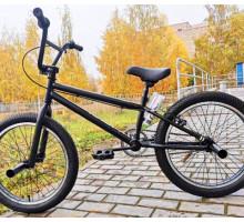 Трюковой велосипед Tech Team BMX Step One Black для начинающих