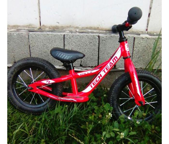 Беговел детский TT Racer красного цвета