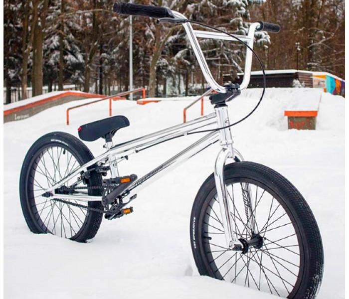 Трюковой велосипед Tech Team TT BMX MILLENIUM Хром 2021