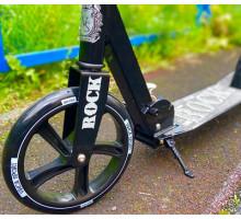 Vinca Sport Rock черный самокат с большими колесами
