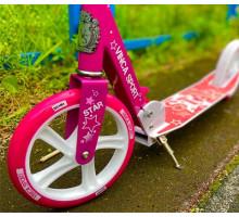 Vinca Sport Star розовый самокат для девочек