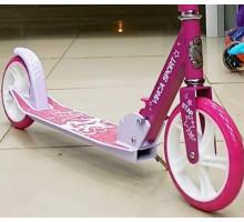 Самокат Vinca Sport Star розовый для девочек