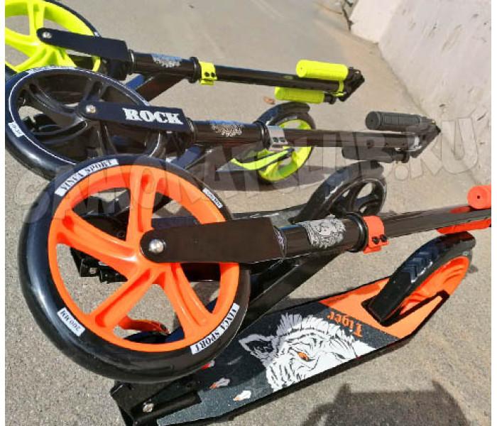 Самокат Vinca Sport Tiger с большими колесами 200мм