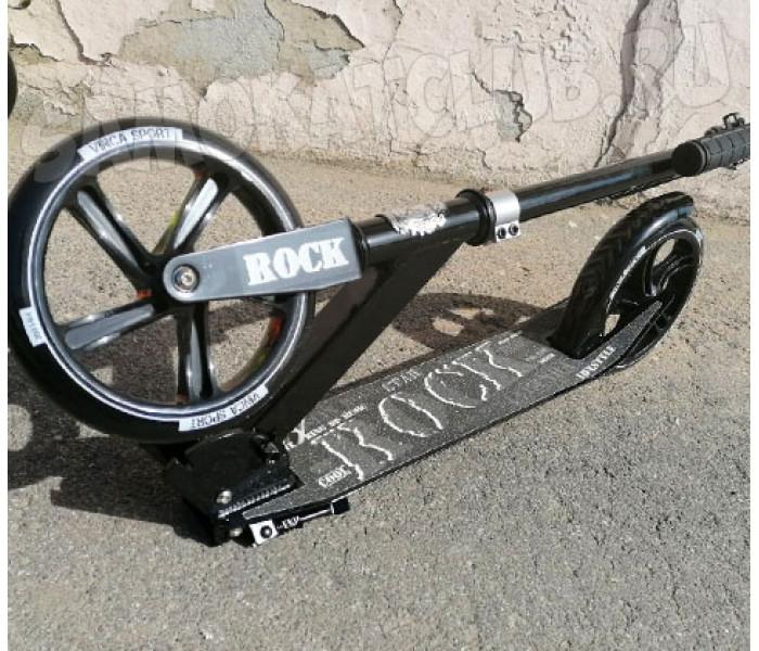 Самокат Vinca Sport Rock с большими колесами 200мм vznysq