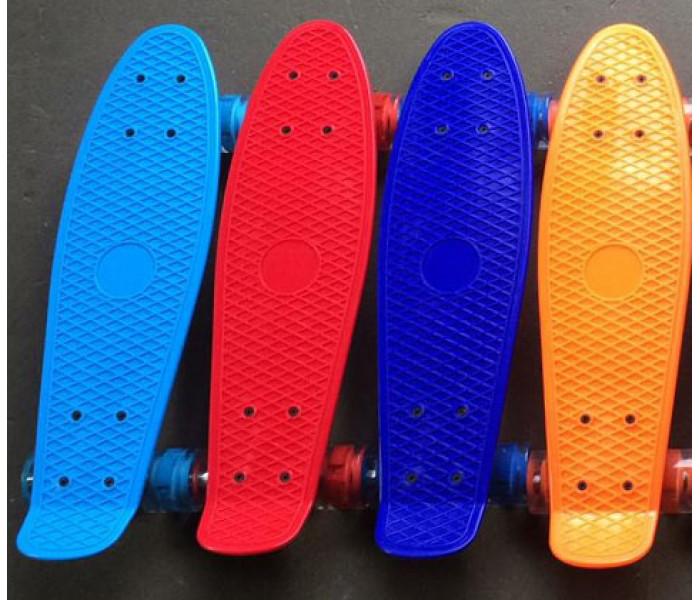 Скейтборд пластиковый 22 дюйма для детей