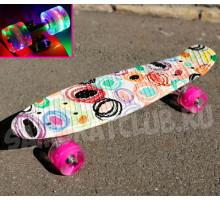 "Скейт 22"" Modern со светящимися колесами"