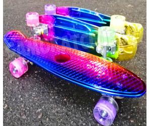 "Скейт 22"" NEO со светящимися колесами"