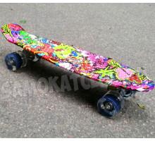 "Скейт 22"" Graffiti со светящимися колесами"