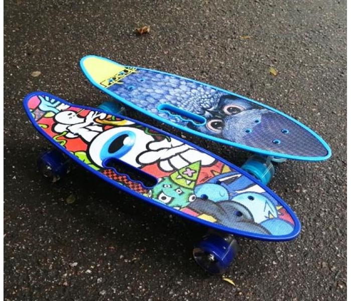 Скейтборд детский 24 дюйма (колеса светятся)