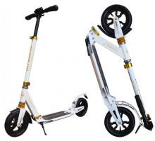Cамокат  Sportsbaby City scooter (белый) с надувными колесами
