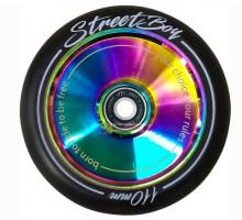 Колесо TECH TEAM для X-Treme самоката Hollow Street Boy 110 (хром)