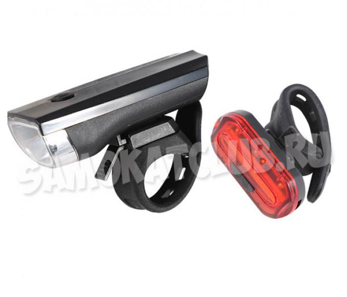 Фонари для самоката / велосипеда передний и задний JY-7024,  6068T