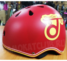 Шлем для трюкового самоката ThunDer Sport XS красный