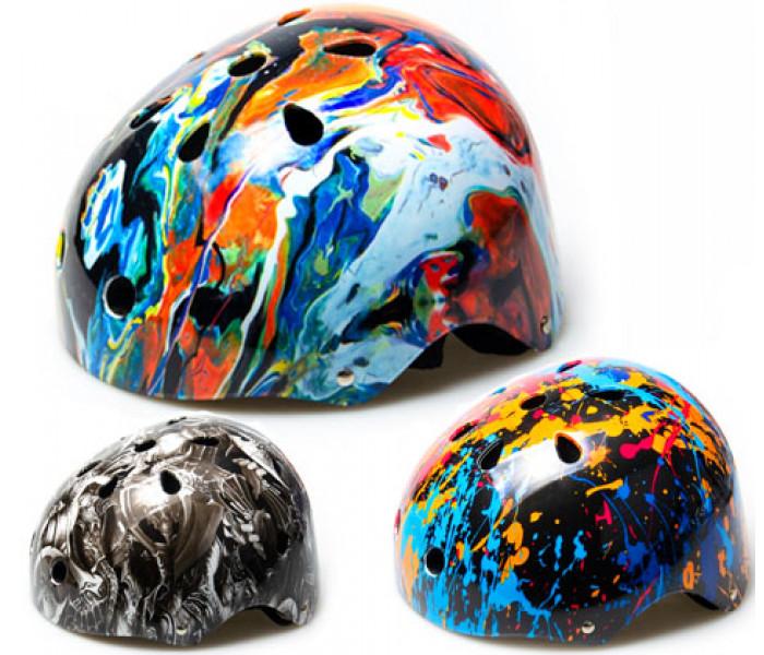 Шлем Crook для катания на роликах, самокате, велосипеде