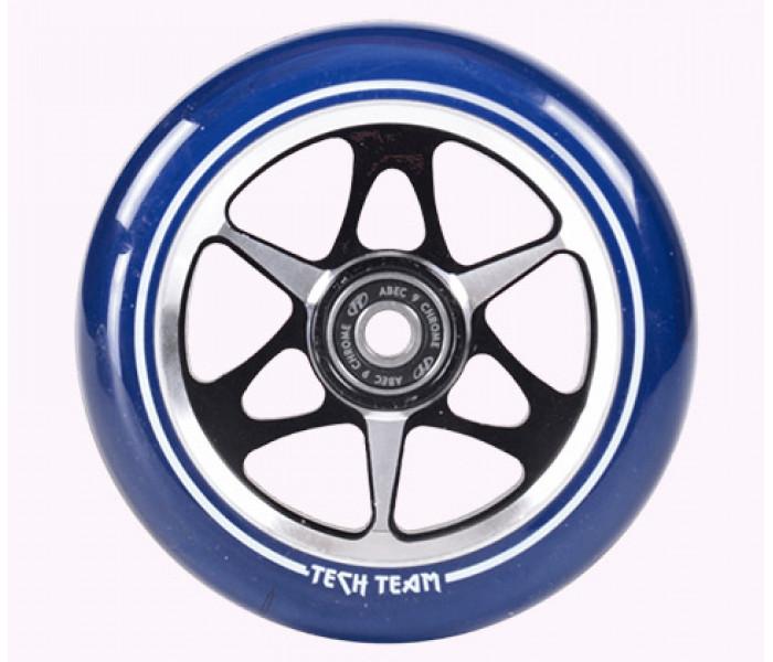 Колесо 110mm для трюкового самоката синее