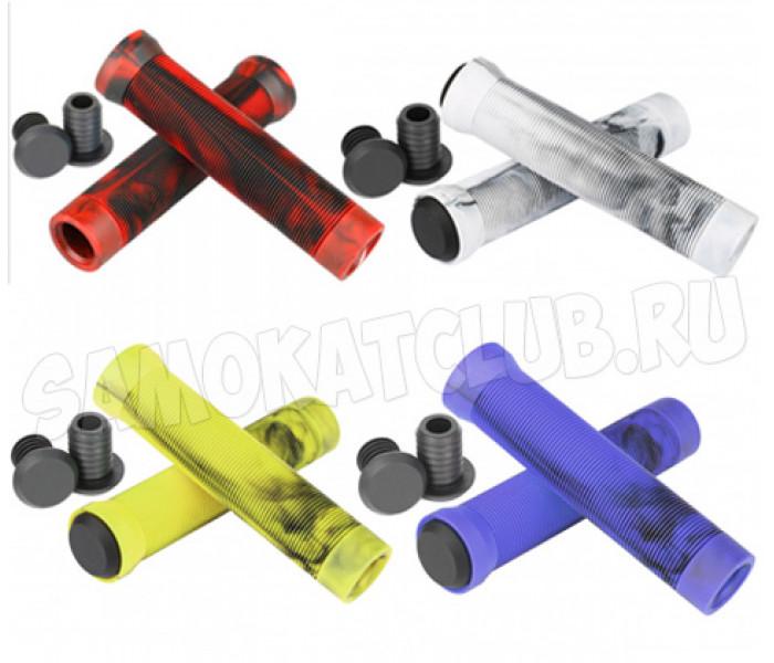 Грипсы трюковые двухцветные VOKUL силикон