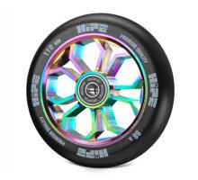 Колесо HIPE 01 Light neo-chrome/черный для трюкового самоката с подшипником