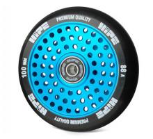 Колесо HIPE H20 Hollow 100мм Blue для трюкового самоката с подшипником
