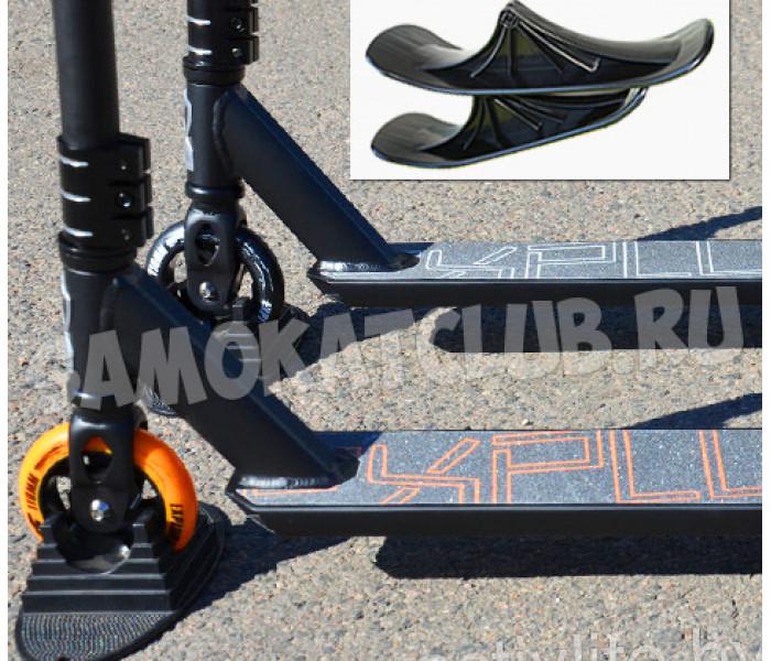 Трюковой самокат Explore HARD HIC на лыжах + колеса в комплекте