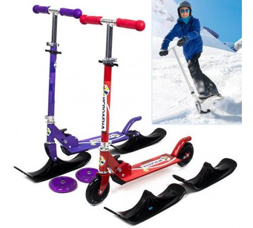 Самокаты на лыжах и беговелы для детей