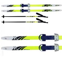 """Лыжи детские """"Комби"""" 130 см с палками и креплениями"""
